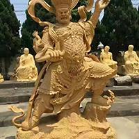 XFGS1696-四大天王铜雕塑像加工