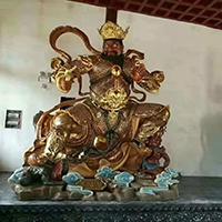 XFGS1697-四大天王铜雕塑像加工厂