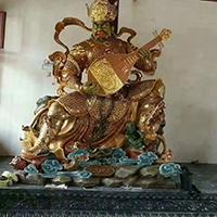 XFGS1699-四大天王铜雕塑像厂