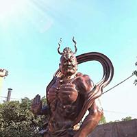 XFGS1701-四大天王铜雕塑像报价