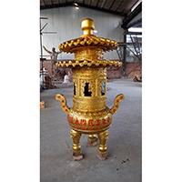 XFGS1752-寺院铜香炉公司