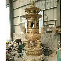 XFGS1755-寺院铜香炉加工厂