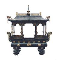 XFGS1759-寺院铜香炉设计