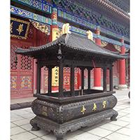 XFGS1781-寺院铜香炉公司