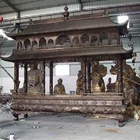 XFGS1786-寺院铜香炉厂