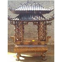 XFGS1788-寺院铜香炉设计
