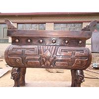 XFGS1789-寺院铜香炉报价