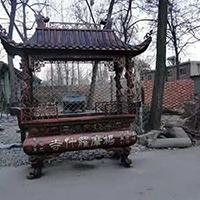 XFGS1790-寺院铜香炉制作