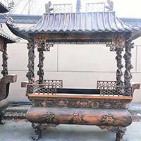 XFGS1798-寺院铜香炉加工