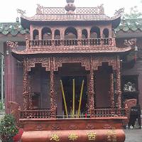 XFGS1812-寺院铜香炉加工