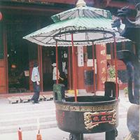XFGS1816-寺院铜香炉定制