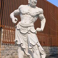 XFGS1874-天王哼哈二将石雕塑像定制