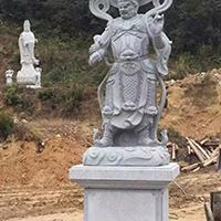 XFGS1902-天王哼哈二将石雕塑像厂