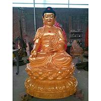 XFGS2098-铜雕佛像制作