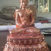 XFGS2207-铜雕佛像加工