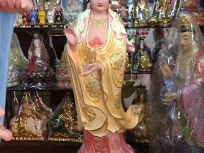XFGS2214-铜雕佛像制作