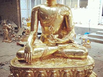 XFGS2262-铜雕佛像生产厂家