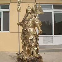 XFGS2360-铜雕关公像_关二爷铜像_武财神铜雕像哪家好