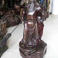 XFGS2448-铜雕关公像_关二爷铜像_武财神铜雕像哪家好