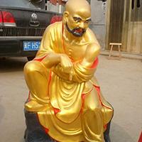 XFGS2518-铜雕十八罗汉报价