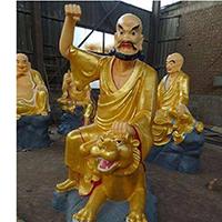 XFGS2524-铜雕十八罗汉生产厂家
