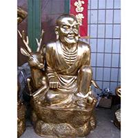 XFGS2527-铜雕十八罗汉加工