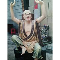 XFGS2530-铜雕十八罗汉定制