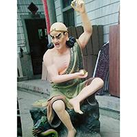 XFGS2531-铜雕十八罗汉设计