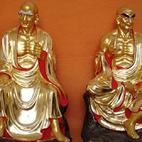 XFGS2537-铜雕十八罗汉多少钱