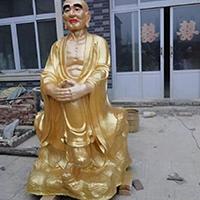 XFGS2539-铜雕十八罗汉生产厂家