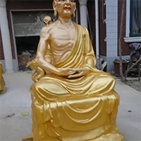 XFGS2543-铜雕十八罗汉厂家