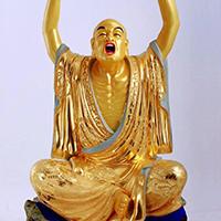 XFGS2545-铜雕十八罗汉定制