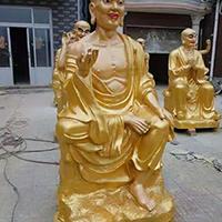 XFGS2549-铜雕十八罗汉制作
