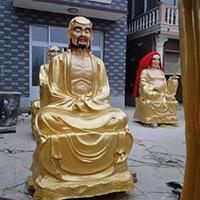 XFGS2559-铜雕十八罗汉厂