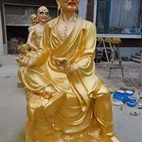 XFGS2561-铜雕十八罗汉报价