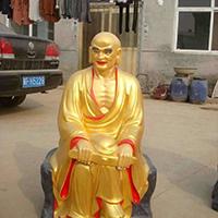 XFGS2603-铜雕十八罗汉定制