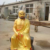 XFGS2607-铜雕十八罗汉制作