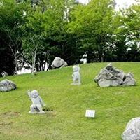 XFGS2689-小和尚石雕塑像_小沙弥石雕像厂家