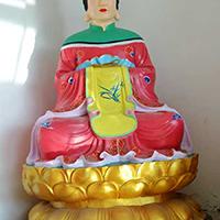 XFGS2761-彩绘神像雕塑厂家