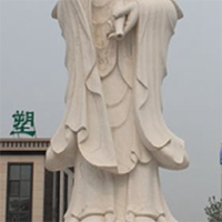 XFGS372-观音菩萨石雕站像哪家好