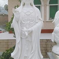 XFGS394-观音菩萨石雕站像供应