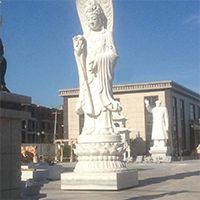 XFGS425-观音菩萨石雕站像公司