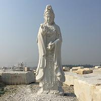 XFGS431-观音菩萨石雕站像定制