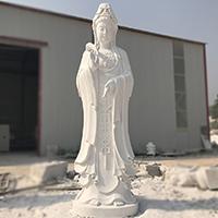 XFGS433-观音菩萨石雕站像报价