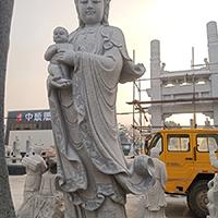 XFGS489-观音菩萨石雕站像公司