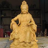 XFGS561-观音坐像铜雕塑报价