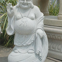 XFGS643-弥勒佛石雕坐像制作