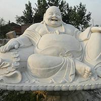 XFGS671-弥勒佛石雕坐像定制