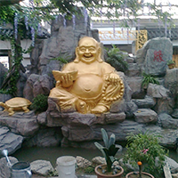 XFGS674-弥勒菩萨铜雕塑像价格
