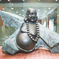 XFGS676-弥勒菩萨铜雕塑像哪家好
